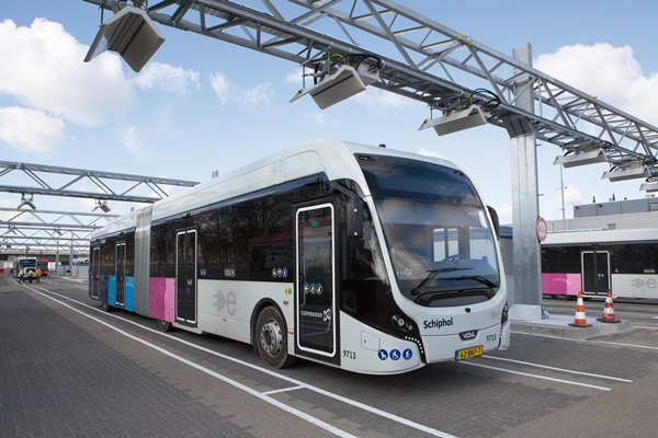Europe's largest electric bus fleet in operation