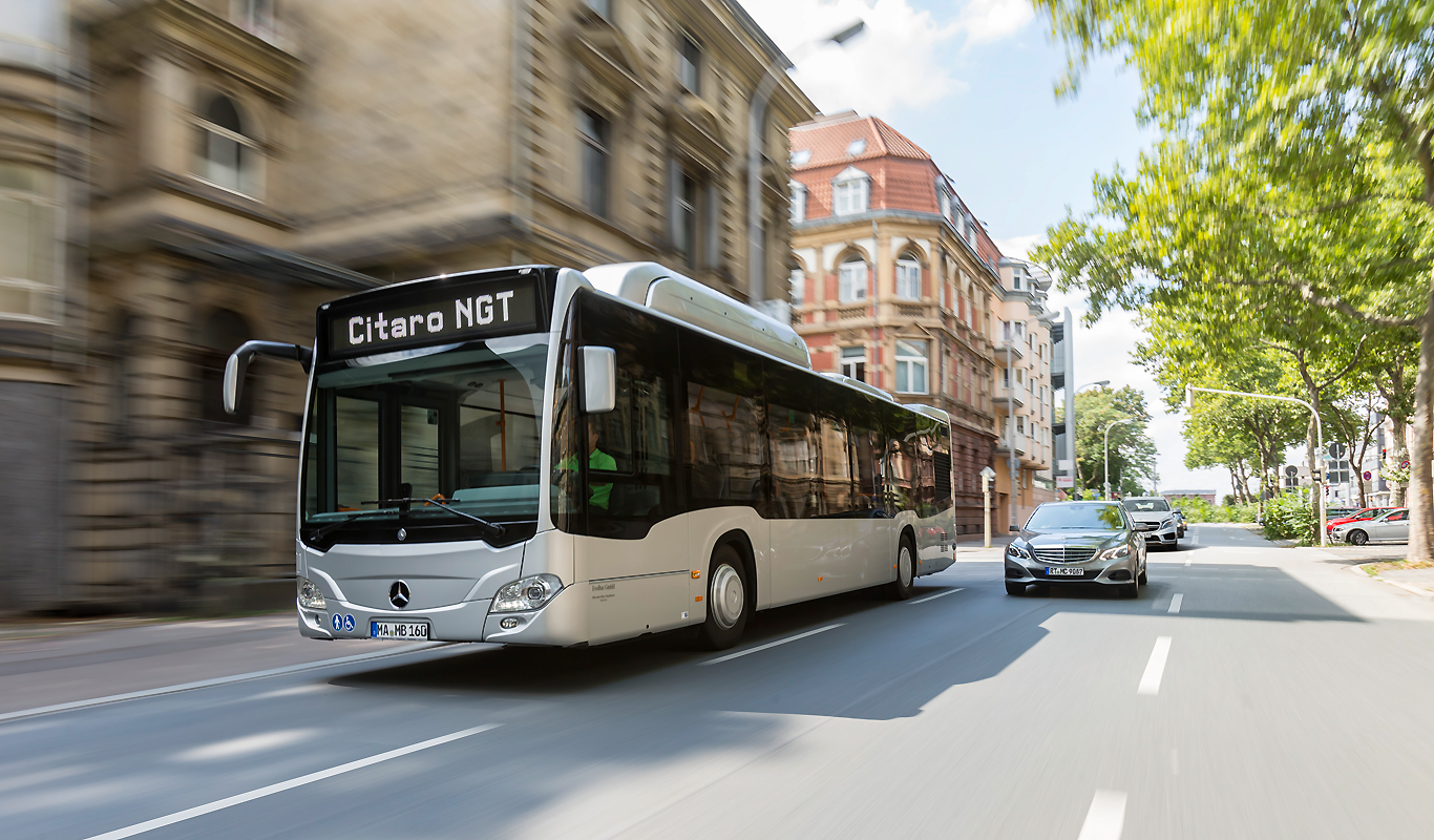 [World-premiere] The Mercedes-Benz Citaro NGT