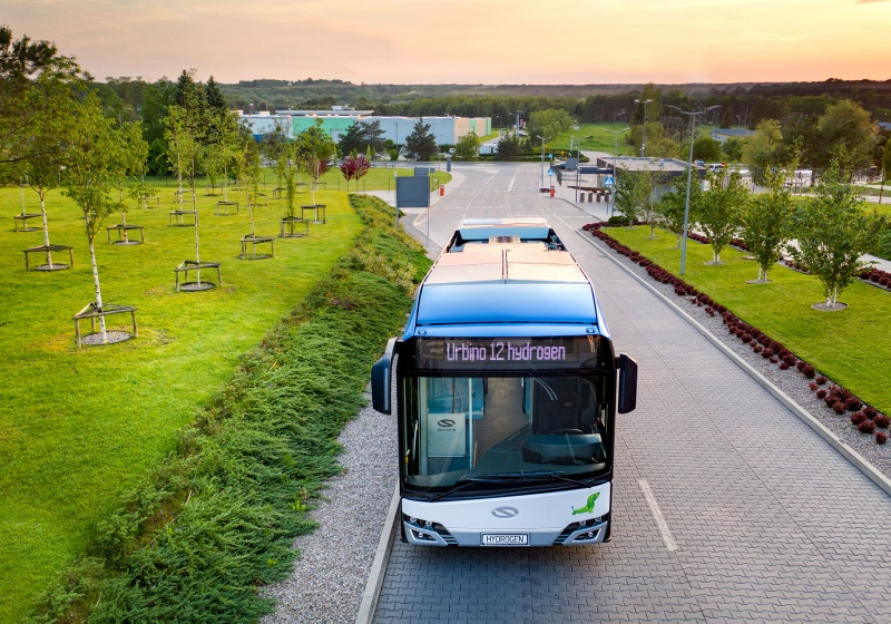 Wuppertal and Cologne order hydrogen buses made by Solaris