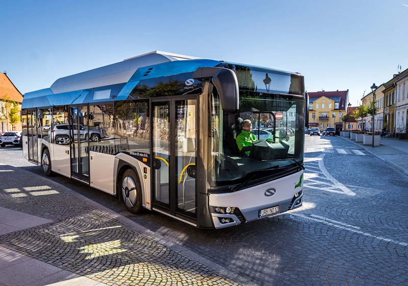 Ettenhuber chooses electric buses from Solaris