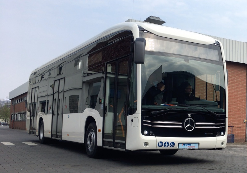 Mercedes Benz to supply 56 electric urban buses to Wiesbaden