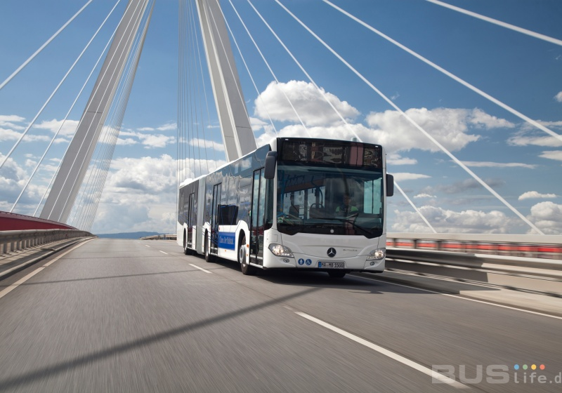 Mercedes Benz to deliver up to 950 city buses to Berliner Verkehrsbetriebe (BVG)