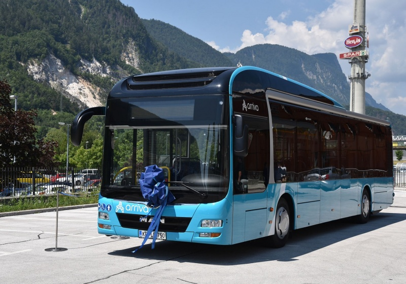 Slovenian première: First MAN Lion's City Hybrid delivered