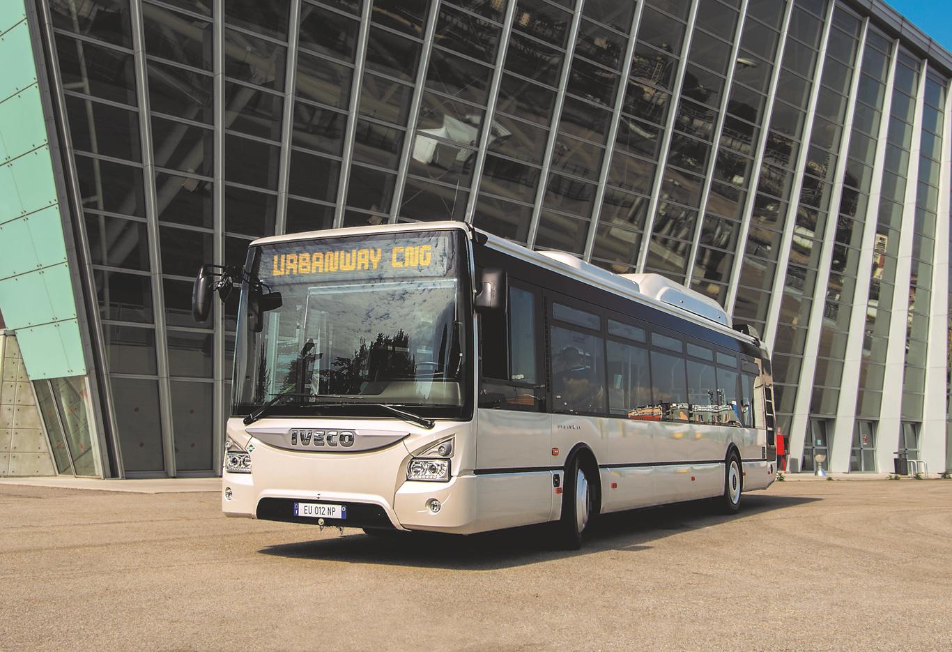 409 Urbanway Busse mit Methan (Bio-/ Erdgas) Antrieb in Frankreich.
