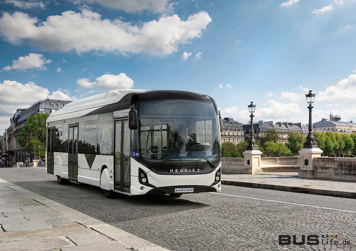 Heuliez Elektro-Bus GX 337 Elec auf Deutschlandtour