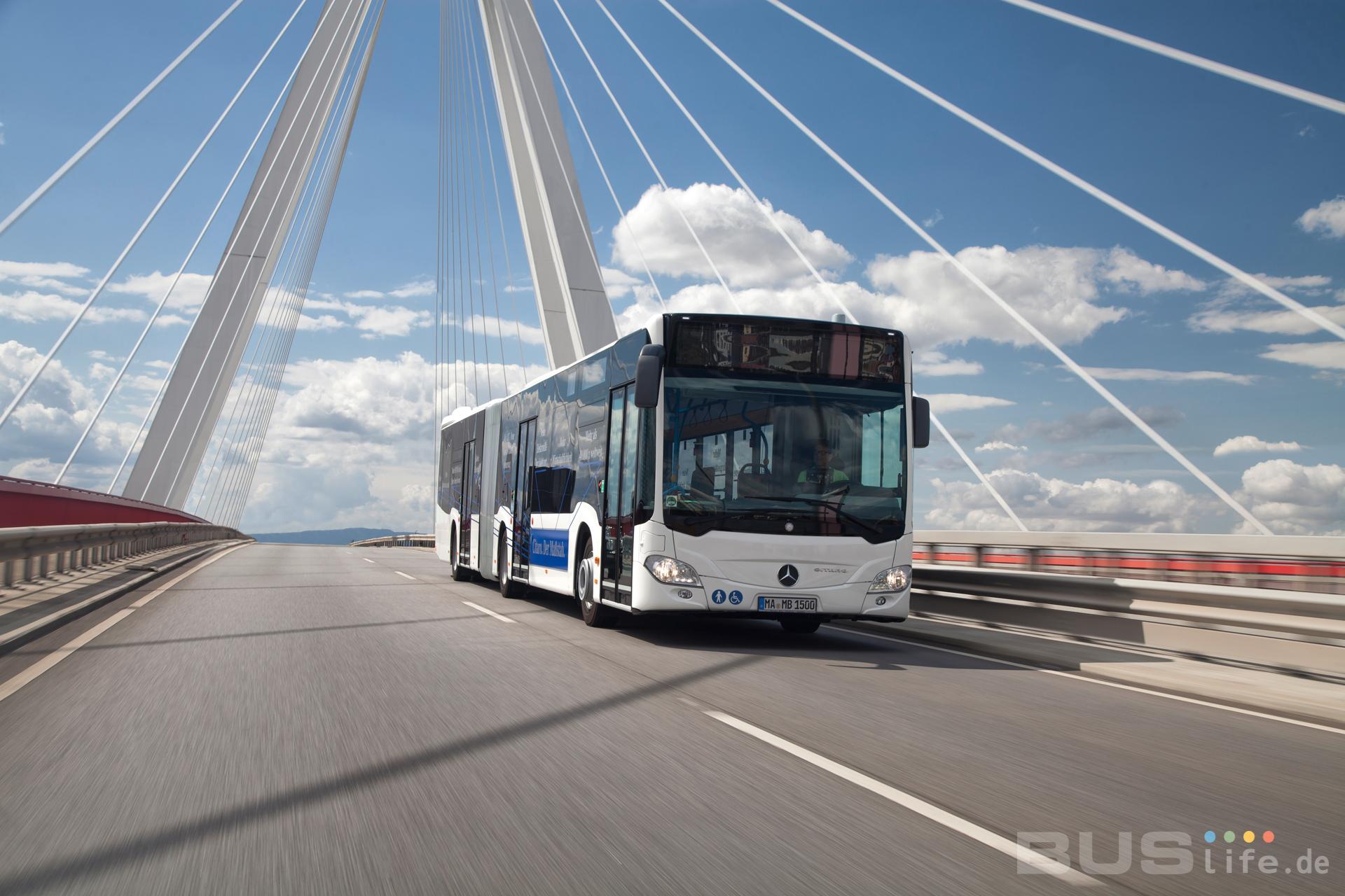 Mercedes Benz liefert bis zu 950 Stadtbusse an die Berliner Verkehrsbetriebe (BVG)
