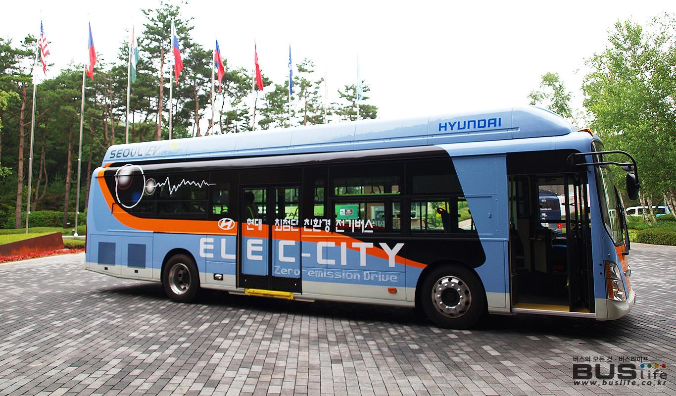 현대자동차 전기버스 - 일렉시티