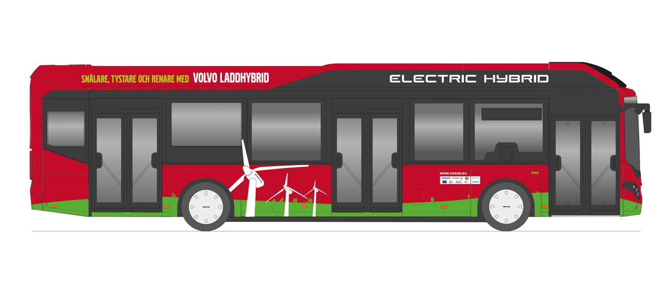 ZeEUS-Kooperation von Volvo mit Elektro-Hybridbussen