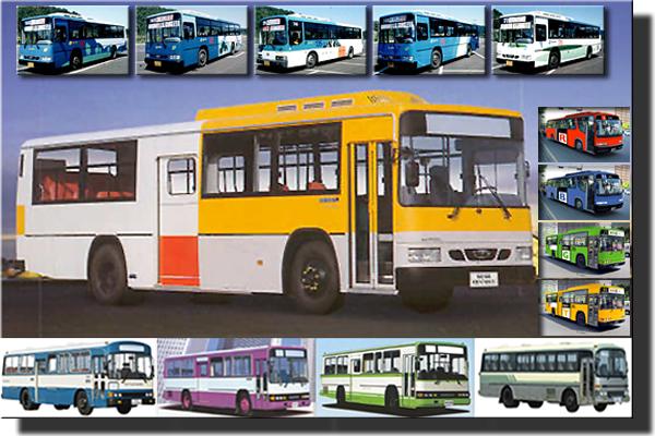 서울시내버스 도색역사