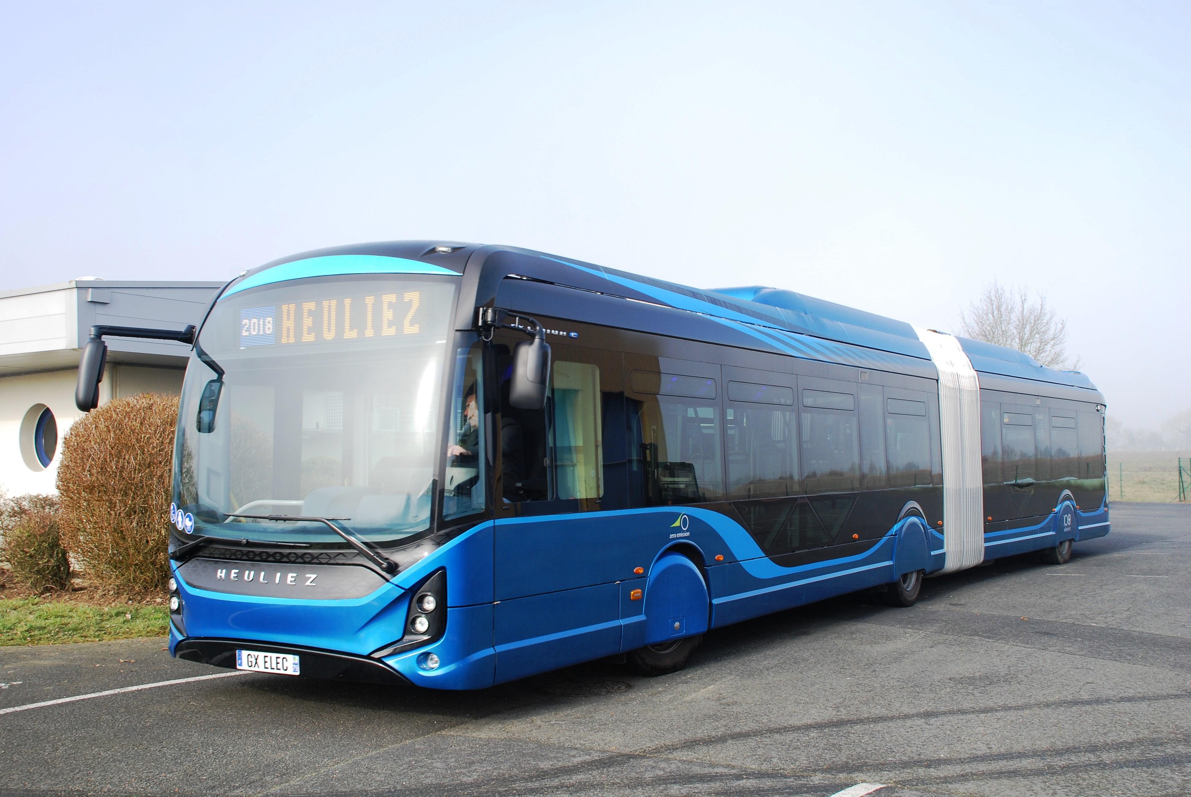 HEULIEZ BUS erhält den bislang größten Auftrag für elektrische Stadtbusse
