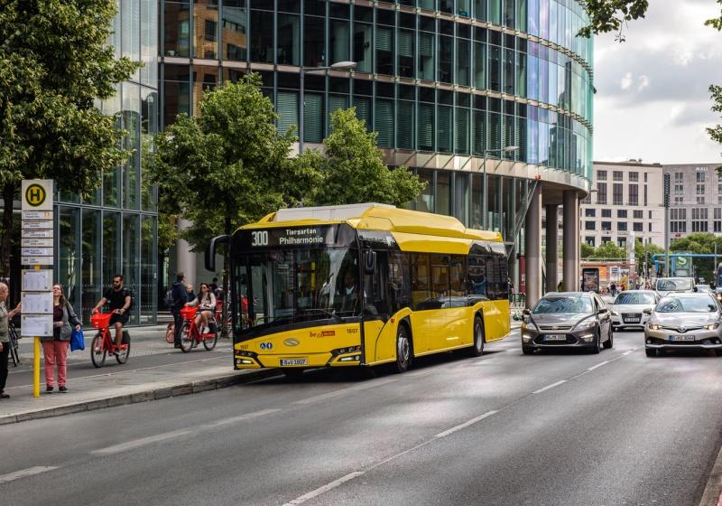 Batteriebusse von Solaris fahren nach Bilbao
