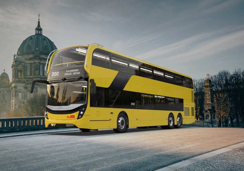 Alexander Dennis Wins Berlin Contract For New Double Decker Fleet