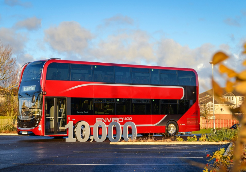 ADL celebrates 10,000-bus milestone with executive Enviro400