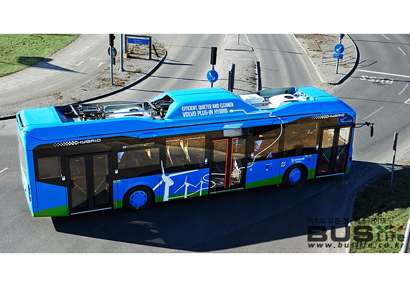 Volvo Plug In Hybrid Bus in Gothenburg