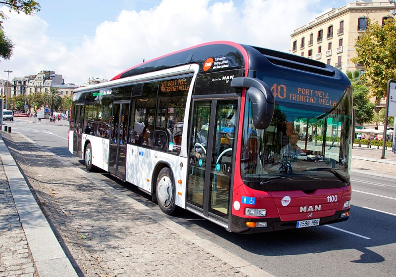 Busbetreiber TMB in Barcelona kauft 10 neue MAN Lion's City Hybrid