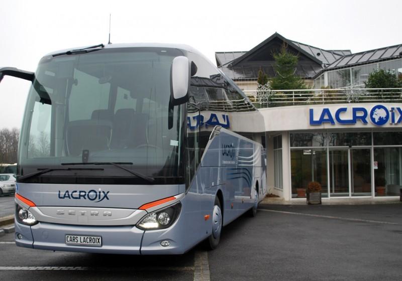 Setra startet als Marktführer bei Reisebussen in Frankreich mit der ComfortClass 500