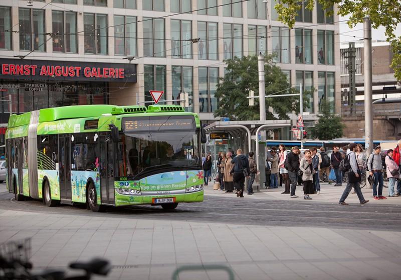 Hannover wählt erneut Hybridbusse von Solaris