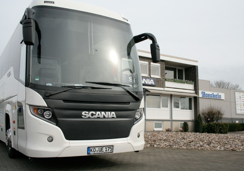 Scania Deutschland eröffnet Scania Bus Center in Willich