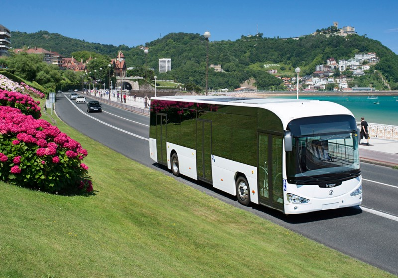 The Irizar i3 - its first 100% electric city bus