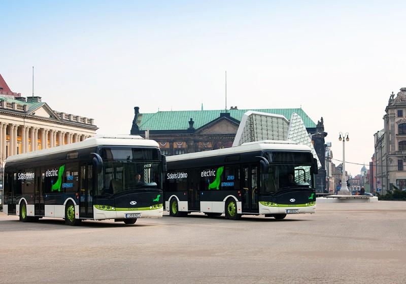 Solaris liefert Elektrobusse nach Düsseldorf