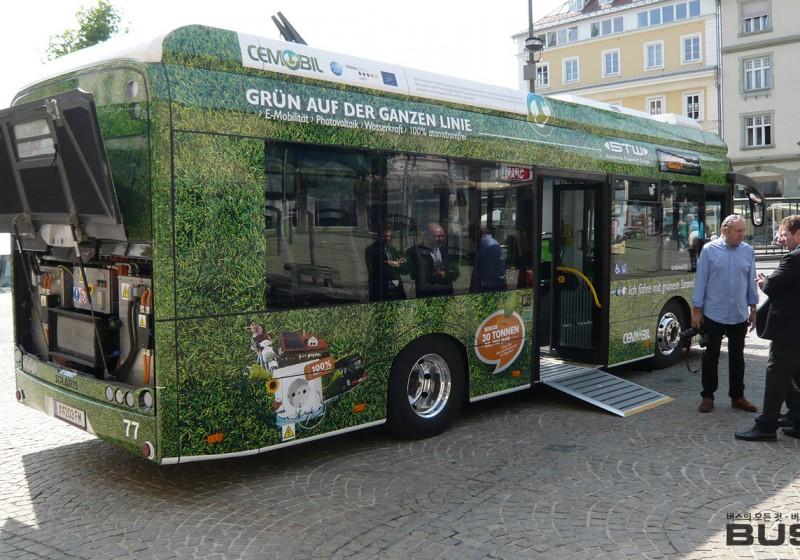 오스트리아 클라겐푸르트 전기버스 운행개시