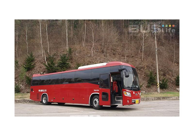 그랜버드 실크로드 관광버스, 전세버스