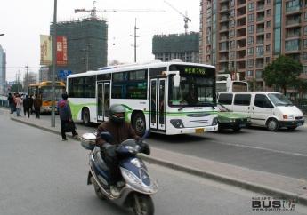 중국 상하이 시내버스