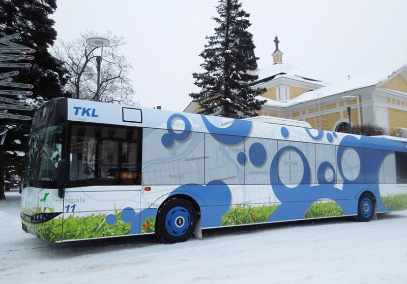 Erste Solaris für Finnland sind Hybridbusse für Tampere