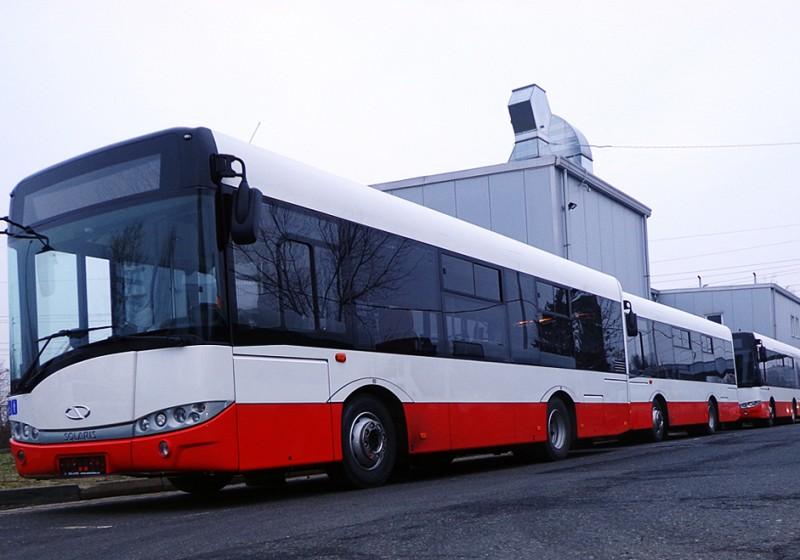 Städtischer Verkehrsbetrieb Prag setzt auf Solaris-Busse