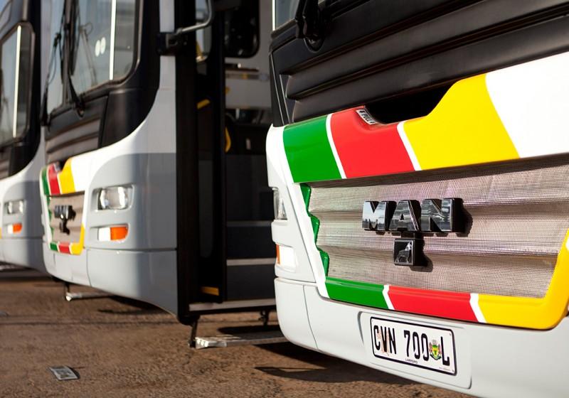 80 MAN-Busse für südafrikanische Provinz Limpopo