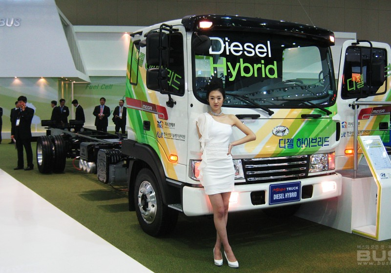 2011 서울모터쇼 버스부문 차량사진
