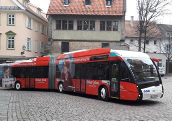 Vossloh Kiepe e Solaris per i filobus di Esslingen. A batteria