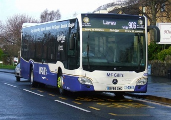 McGill's Buses renews again with Michelin tyres